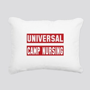 Universal Camp nursing Rectangular Canvas Pillow