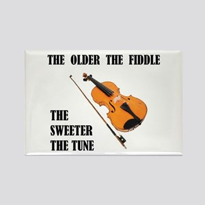 SWEET FIDDLE Rectangle Magnet