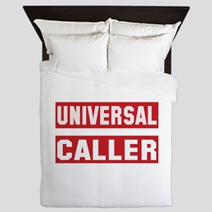 Universal Caller Queen Duvet