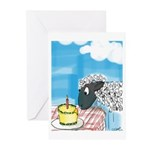 Happy Birthday to Ewe! Greeting Cards