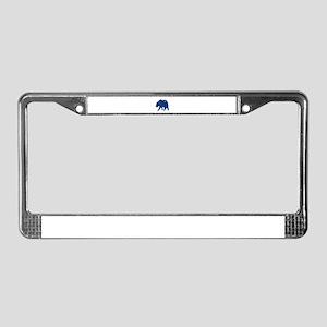 ALASKAN License Plate Frame