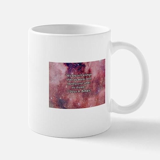 Last Unicorn Quote Mugs