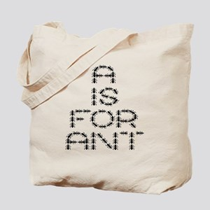 a is for ant Tote Bag
