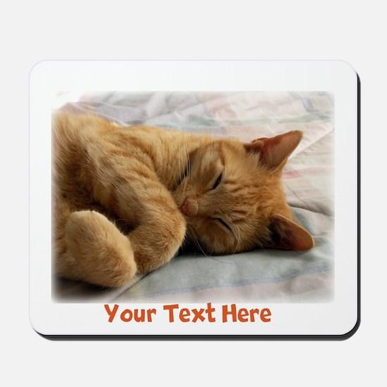 Personalizable Sweet Dreams Mousepad