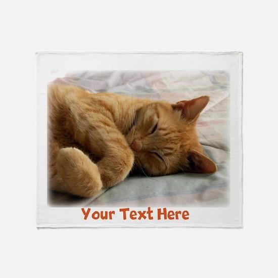 Personalizable Sweet Dreams Throw Blanket