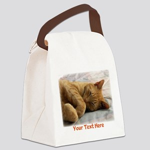 Personalizable Sweet Dreams Canvas Lunch Bag
