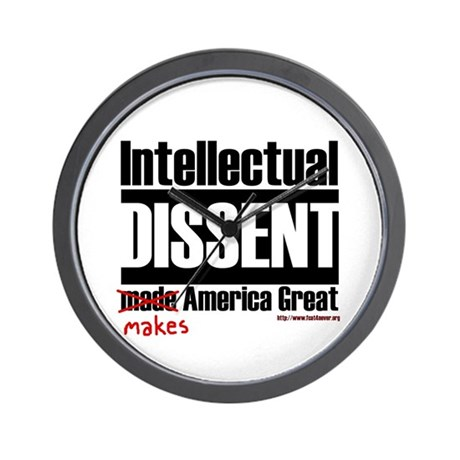 Intellectual Dissent makes Am Wall Clock