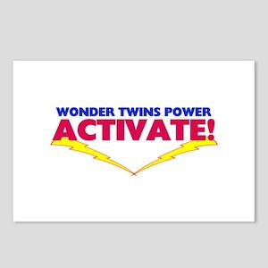 Wonder Twins Postcards (Package of 8)