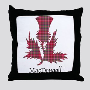Thistle - MacDougall Throw Pillow