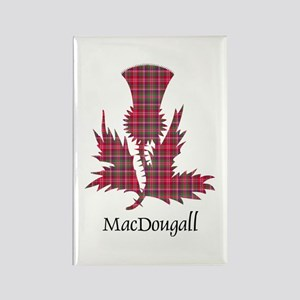 Thistle - MacDougall Rectangle Magnet