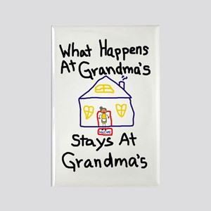 Grandma's House Rectangle Magnet