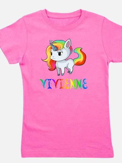 Cute Vivienne Girl's Tee