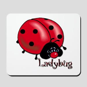 Chubby Lil' Ladybug Mousepad