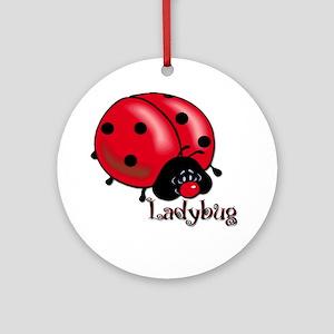 Chubby Lil' Ladybug Keepsake (Round)