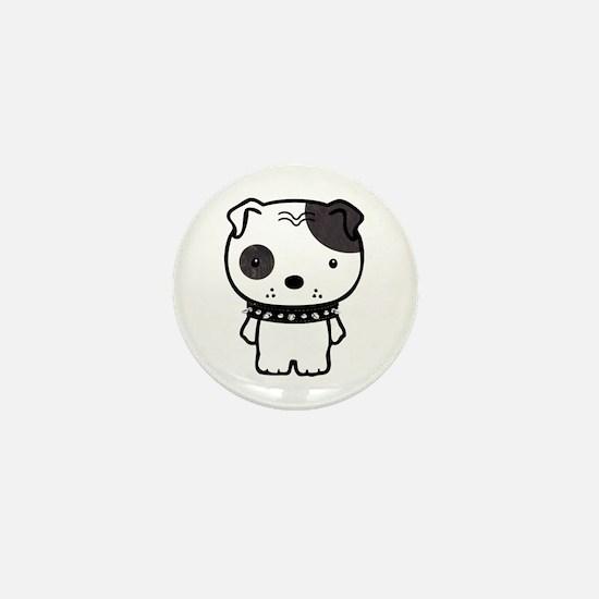 Spike Pit Bull Mini Button