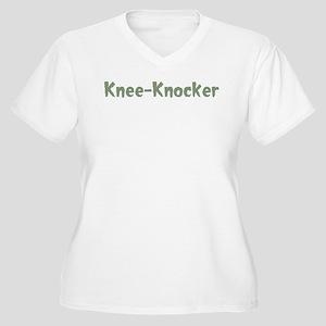 knee knocker women s plus size t shirts cafepress