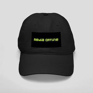 Media Offline Black Cap
