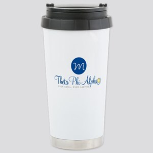 Theta Phi Alpha Monogra Stainless Steel Travel Mug