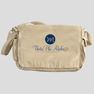 Theta Phi Alpha Monogram Messenger Bag