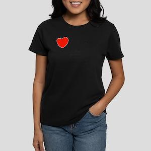 I love conjugation Women's Dark T-Shirt