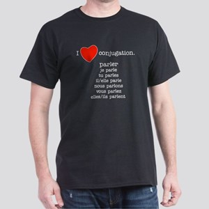 I love conjugation Dark T-Shirt