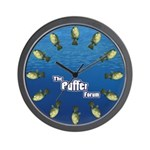 The Puffer Forum Wall Clock