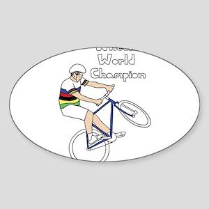 World Champion Wheelie Rider (In Rainbow J Sticker