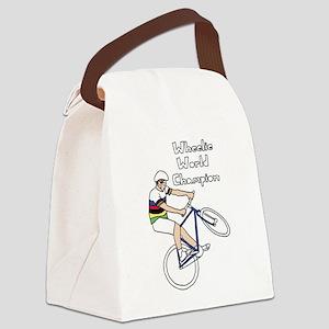 World Champion Wheelie Rider (In Canvas Lunch Bag