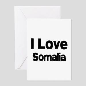I love Somalia Greeting Card