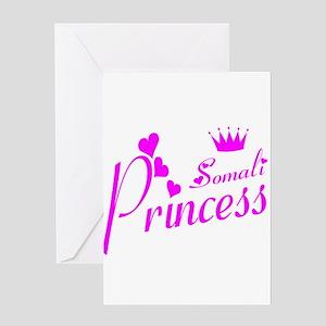 Somali princess Greeting Card