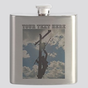 Personizable Rusty the Lineman Flask