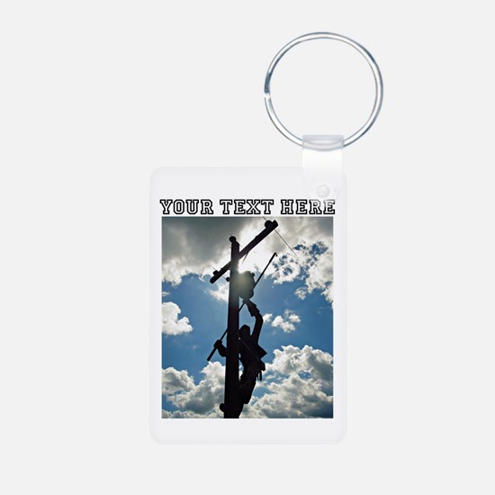 Personizable Rusty the Lineman Keychains
