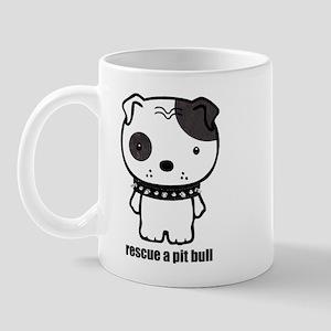 Spike Pit Bull Mug