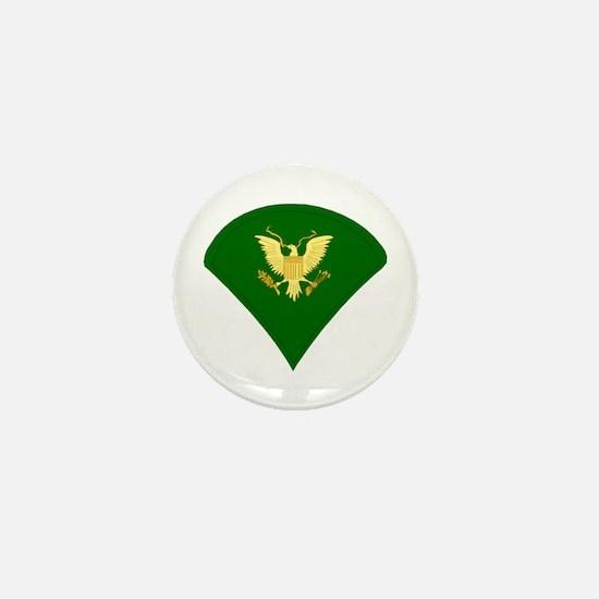 Unique National guard soldier Mini Button