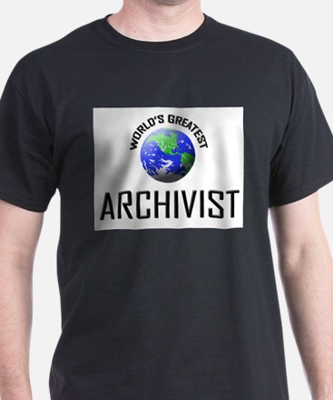 World's Greatest ARCHIVIST T-Shirt