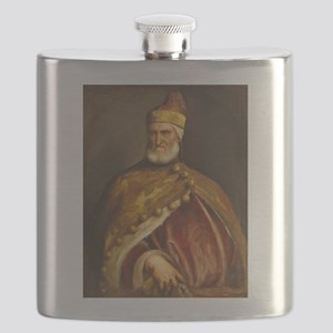 Doge Andrea Gritti by Titian Flask