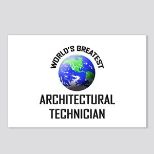 World's Greatest ARCHITECTURAL TECHNICIAN Postcard