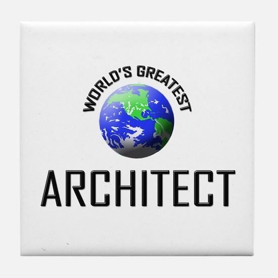 World's Greatest ARCHITECT Tile Coaster