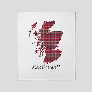 Map - MacDougall Throw Blanket