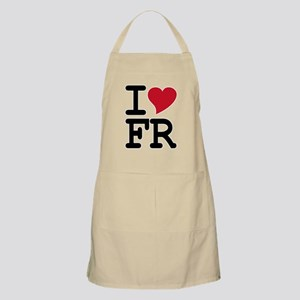 France Heart BBQ Apron