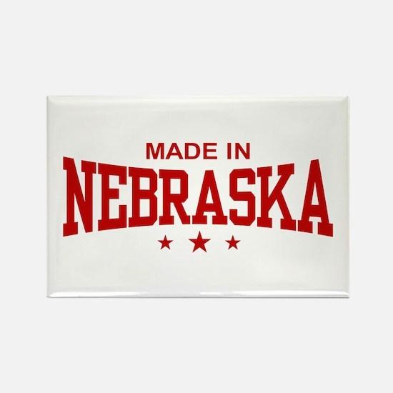 Made In Nebraska Rectangle Magnet