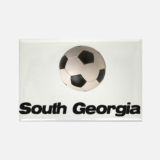 South Georgia soccer Rectangle Magnet
