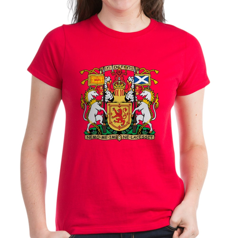 CafePress-Scotland-Coat-Of-Arms-T-Shirt-Women-039-s-Cotton-T-Shirt-195329589 thumbnail 18