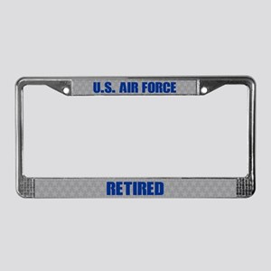 U.s. Air Force Retired License Plate Frame