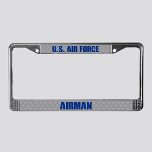 U.s. Air Force Airman License Plate Frame