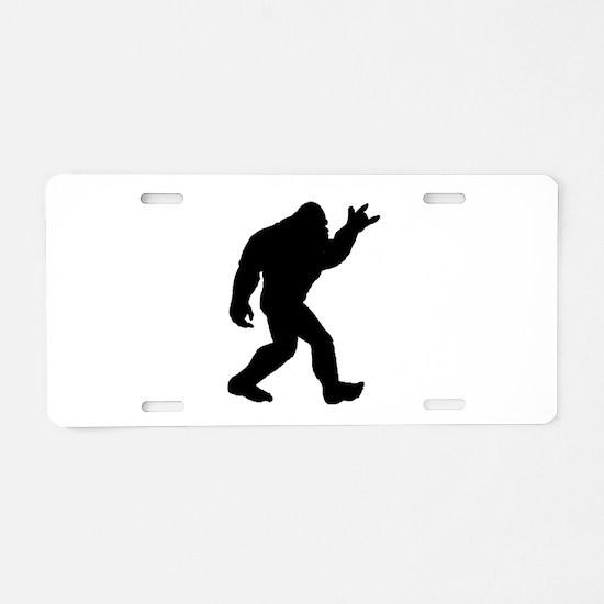 Unique Metalhead Aluminum License Plate
