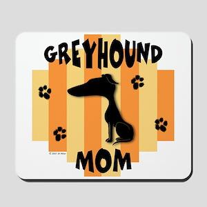 Greyhound Mom Mousepad