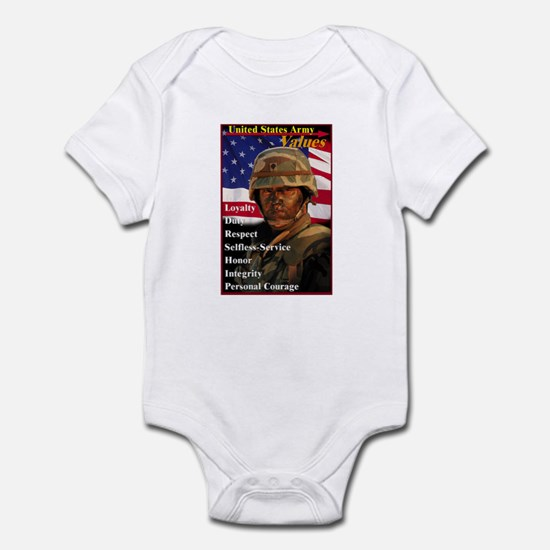 Army Values Body Suit