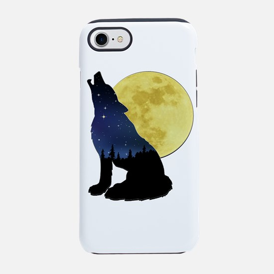 Cute Wolfpack iPhone 8/7 Tough Case