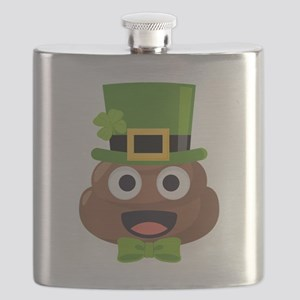 Poo St. Pattys Flask